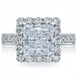 Tacori HT2605PR85 18 Karat RoyalT Engagement Ring