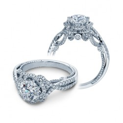 Verragio Insignia-7087R Platinum Engagement Ring