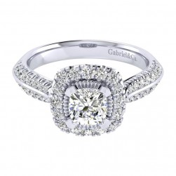 Gabriel 14 Karat Perfect Match Engagement Ring ER002B4AJW44JJ