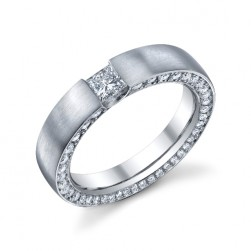 246796 Christian Bauer 14 Karat Diamond  Wedding Ring / Band