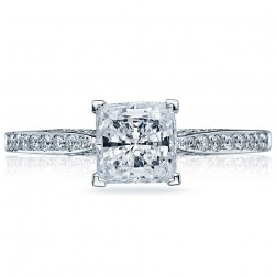 2638PRP6 Platinum Tacori Dantela Engagement Ring