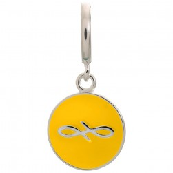 Endless Jewelry Sun Endless Coin Sterling Silver Charm 43307-7