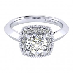 Gabriel 14 Karat Perfect Match Engagement Ring ER001B4ABW44JJ