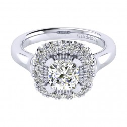 Gabriel 14 Karat Perfect Match Engagement Ring ER009C6AJW44JJ