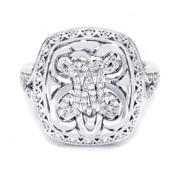 Tacori Diamond Ring 18 Karat Fine Jewelry FR808M