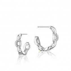 SE197 Tacori Ivy Lane Mini Crescent Curve Earrings