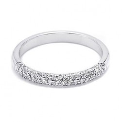Tacori 2524 Platinum Wedding Band