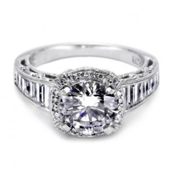 Tacori Crescent 18 Karat Engagement Ring HT2531RD12X