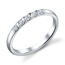 244422 Christian Bauer Platinum Diamond  Wedding Ring / Band