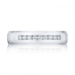 125-5D Platinum Tacori Diamond Wedding Ring