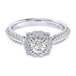 Gabriel 14 Karat Perfect Match Engagement Ring ER002A2ACW44JJ