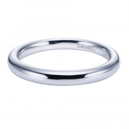 Gabriel Platinum Contemporary Wedding Band WB6600PTJJJ