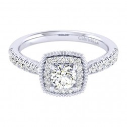 Gabriel 14 Karat Perfect Match Engagement Ring ER039A2ABW44JJ