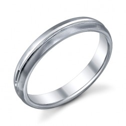 272851 Christian Bauer Platinum Wedding Ring / Band