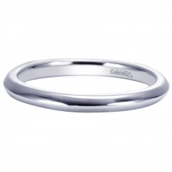 Gabriel Platinum Contemporary Wedding Band WB8177PTJJJ