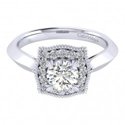Gabriel 14 Karat Perfect Match Engagement Ring ER001B3AAW44JJ