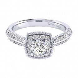 Gabriel 14 Karat Perfect Match Engagement Ring ER002A2ABW44JJ