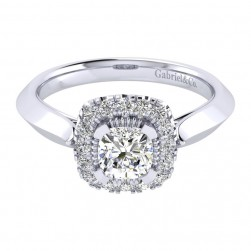 Gabriel 14 Karat Perfect Match Engagement Ring ER001B3AJW44JJ