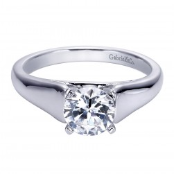 Gabriel Platinum Contemporary Engagement Ring ER8138PTJJJ