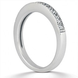 Taryn Collection Platinum Wedding Ring TQD B-7611