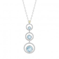 SN14502 Tacori 18k925 Island Rains Necklace