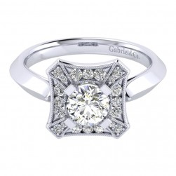 Gabriel 14 Karat Perfect Match Engagement Ring ER001B3AEW44JJ