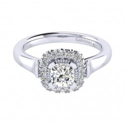 Gabriel 14 Karat Perfect Match Engagement Ring ER009B3AJW44JJ