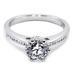 Tacori 18 Karat Solitaire Engagement Ring 2501RDCH65