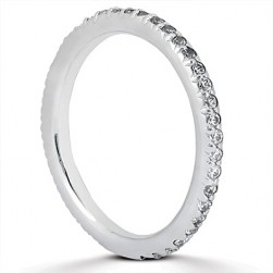 Taryn Collection Platinum Wedding Ring TQD B-8801