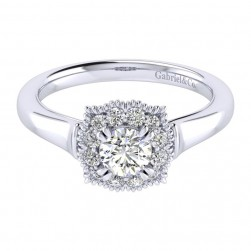Gabriel 14 Karat Perfect Match Engagement Ring ER009A2ACW44JJ