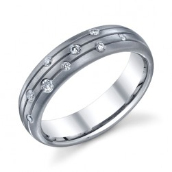 245401 Christian Bauer Platinum Diamond  Wedding Ring / Band
