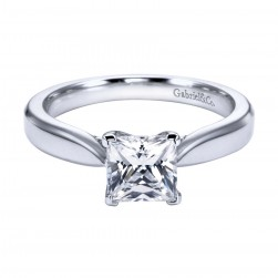 Gabriel Platinum Contemporary Engagement Ring ER6596PTJJJ