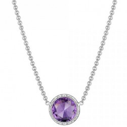 SN15301 Tacori 18k925 Lilac Blossoms Necklace Silver & Gold