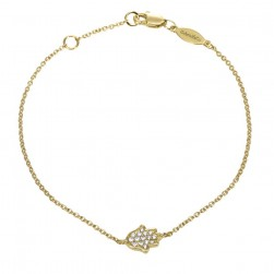Gabriel Fashion 14 Karat Trends Chain Bracelet TB2995Y45JJ