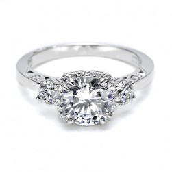 Tacori Platinum Dantela Engagement Ring 2623RDSM