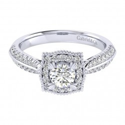 Gabriel 14 Karat Perfect Match Engagement Ring ER002A2AAW44JJ