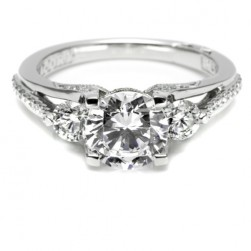Tacori 18 Karat Simply Tacori Engagement Ring 2633RD75
