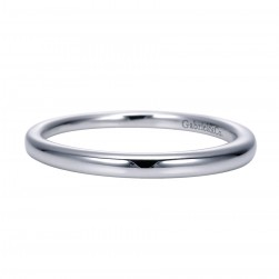 Gabriel Platinum Contemporary Wedding Band WB7728PTJJJ