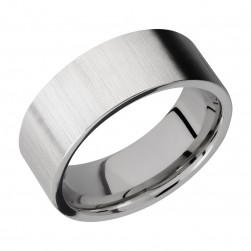 Lashbrook 8FR Titanium Wedding Ring or Band