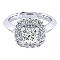 Gabriel 14 Karat Perfect Match Engagement Ring ER001C6AJW44JJ