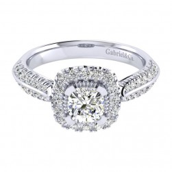 Gabriel 14 Karat Perfect Match Engagement Ring ER002B3AJW44JJ