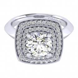 Gabriel 14 Karat Perfect Match Engagement Ring ER001C8AGW44JJ
