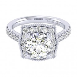 Gabriel 14 Karat Perfect Match Engagement Ring ER039C8AAW44JJ