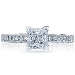 Tacori 2576SMPR55 18 Karat Simply Tacori Engagement Ring