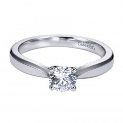 Gabriel Platinum Contemporary Engagement Ring ER6589PTJJJ