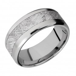 Lashbrook 9B15(NS)/Meteorite Titanium Wedding Ring or Band