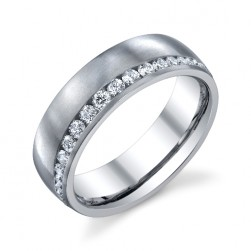 246820 Christian Bauer 18 Karat Diamond  Wedding Ring / Band