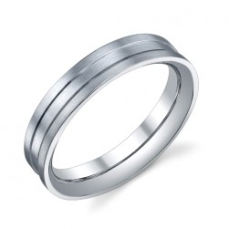 273803 Christian Bauer Platinum Wedding Ring / Band