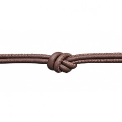Endless Jewelry Brown Leather Necklace 13102