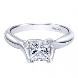 Gabriel 14 Karat Contemporary Engagement Ring ER10762W4JJJ